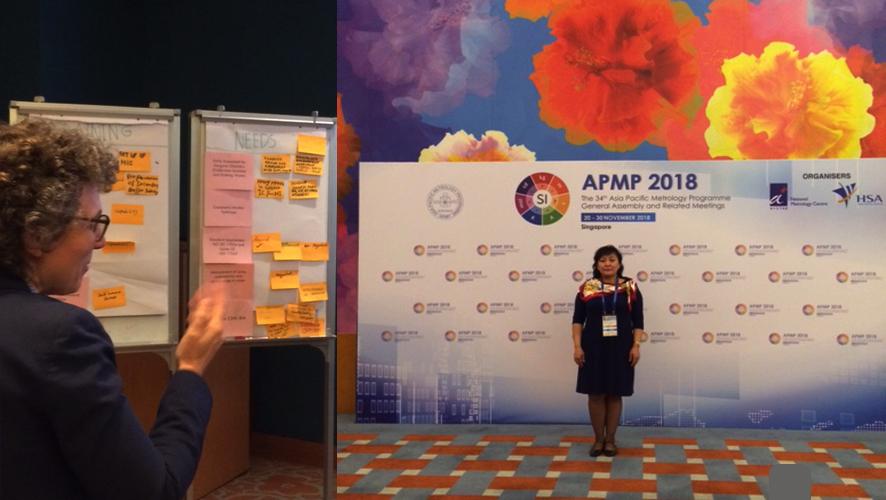 """Сингапур улсад  зохион байгуулагдсан """"Цэвэр усны хэмжил"""" сэдэвт семинарт оролцов"""