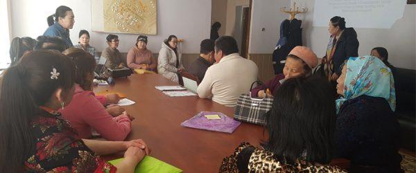 Төв аймгийн Эрдэнэсант суманд баталгаажуулалтын ажлыг хийж гүйцэтгэлээ